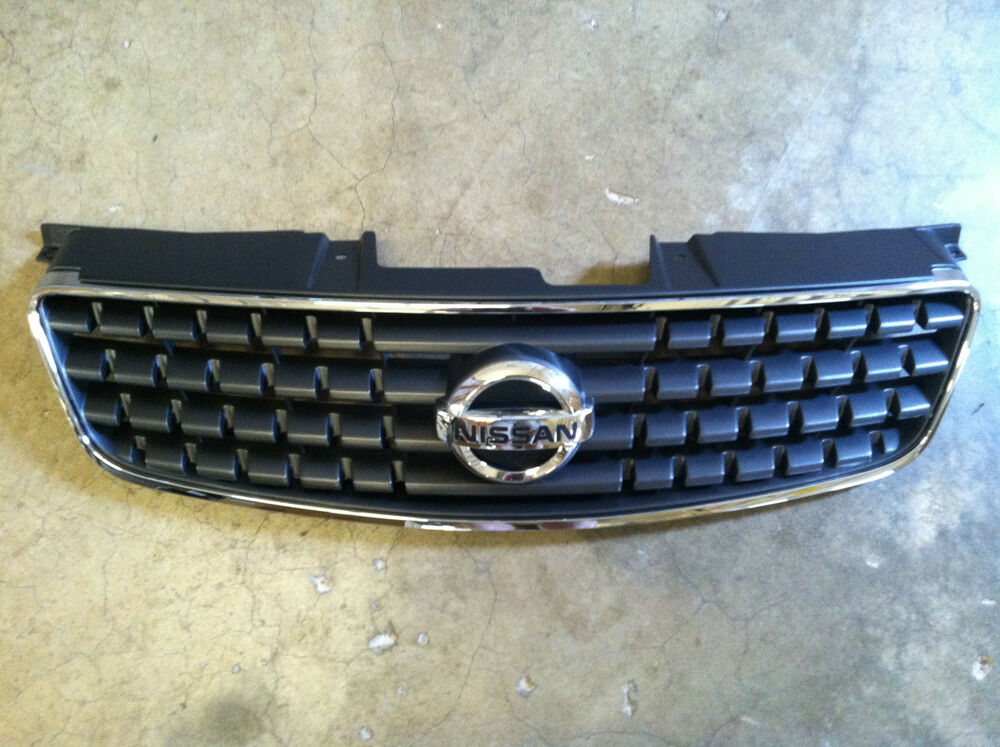 new oem 2004 2006 nissan altima grille with emblem non se r package only ebay. Black Bedroom Furniture Sets. Home Design Ideas