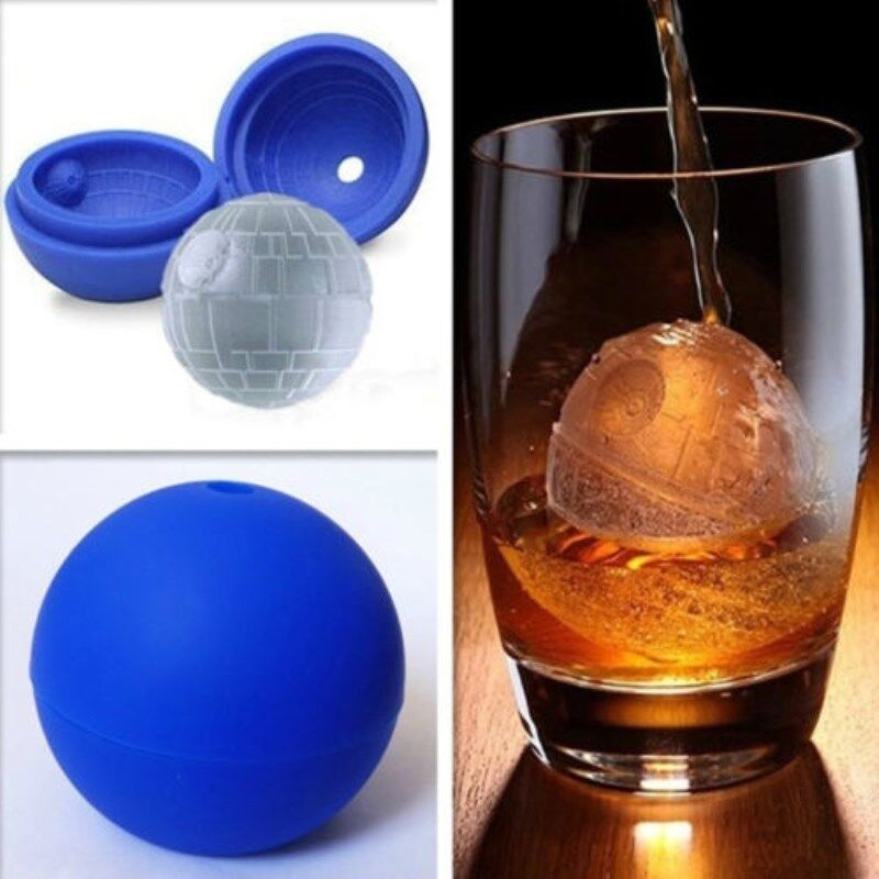 Star Wars Silicone Ice Ball Molds Cube Tray Perfect Gift 230808642649