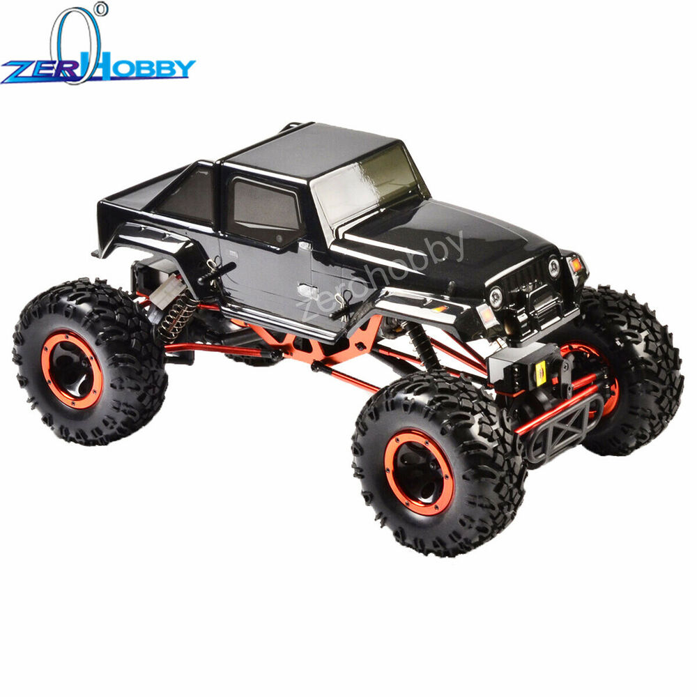 Hsp 1 10 4ws four wheels steering off road rock crawler for Benetton 4 wheel steering