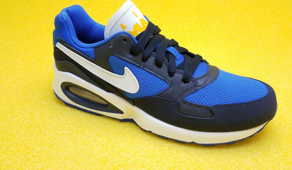 half off b6926 00e08 Details about NIKE AIR MAX ST 654288 400 Youth Sizes FAST FREE SHIPPING BLUE  BLACK WHITE COLOR
