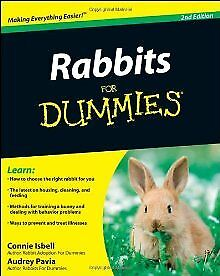 Rabbits For Dummies .. NEW