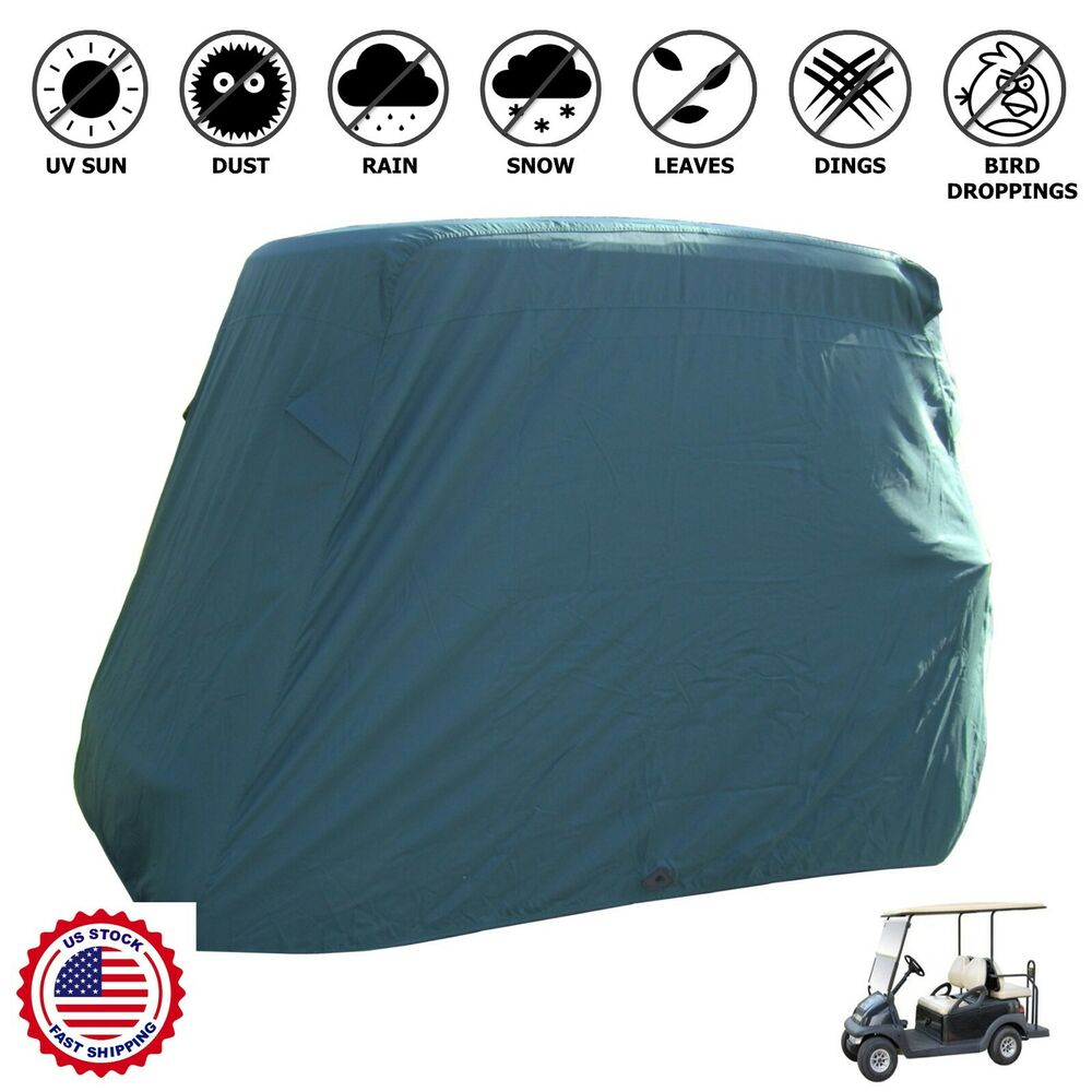 4 Passengers Golf Cart Storage Cover Fit EZ Go,Club Car
