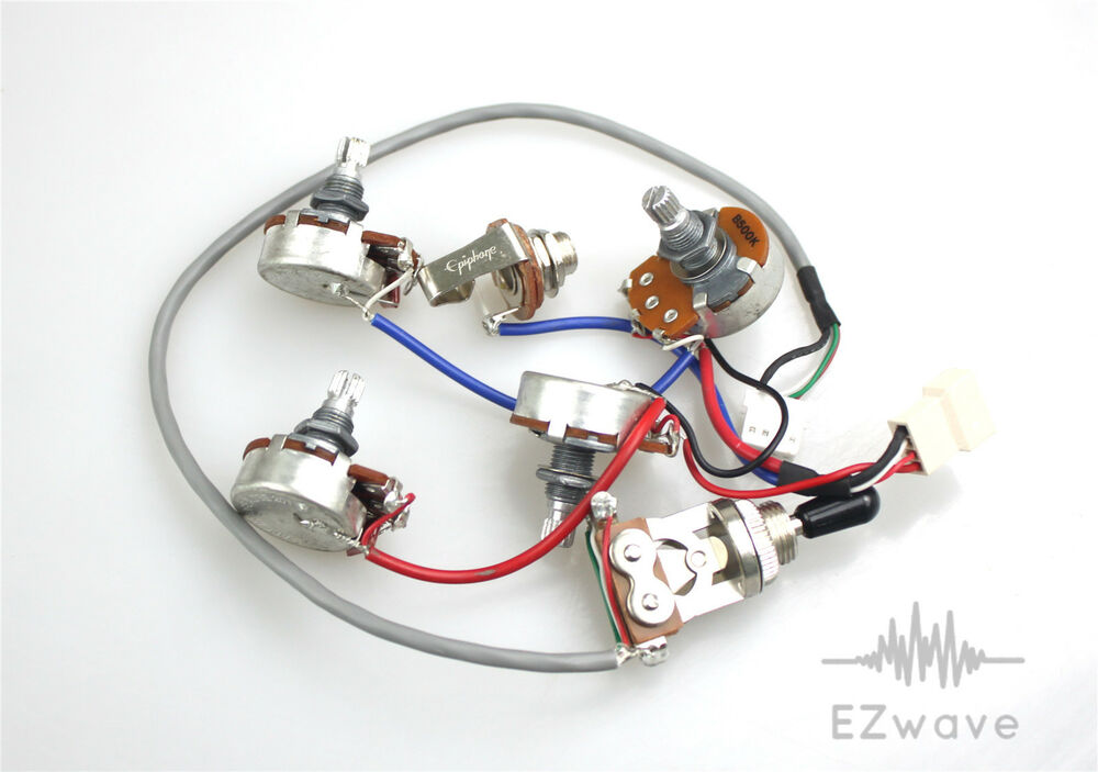 epiphone wiring harness wiring diagram librarygenuine epiphone les paul wiring harness with full size 500k toyota wiring harness details about genuine