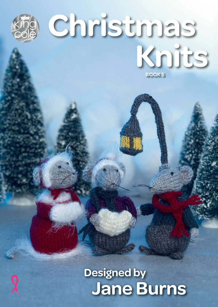 king cole christmas knits book 5 wreath bauble mice tea cosy knitting pattern 5015214990271 ebay