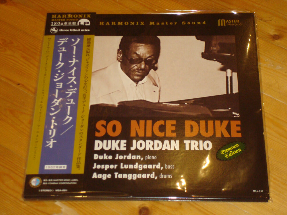 Image result for Duke Jordan Trio So Nice Duke