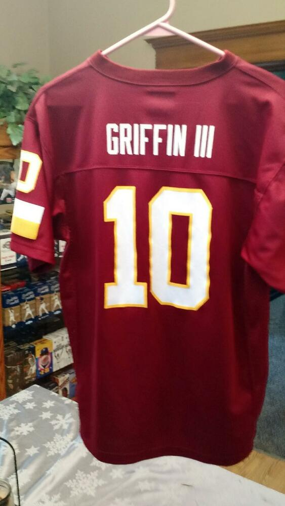 7c545ef84 PRE-OWNED NFL WASHINGTON REDSKINS ROBERT GRIFFIN III JERSEY YOUTH SIZE XL  18-20