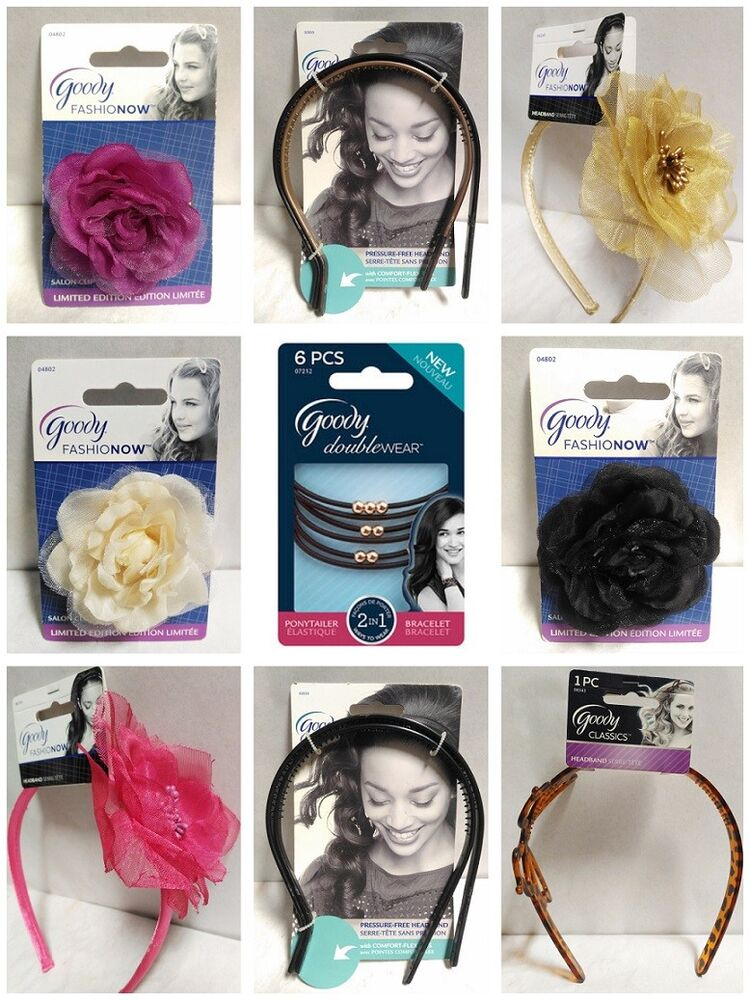 Goody Ouchless Hair Bands Ties And Accessories You