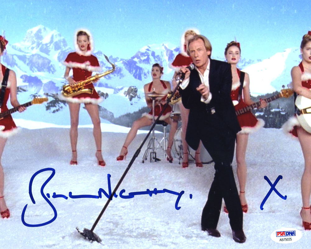 Details about (SSG) Sexy BILL NIGHY Signed 10X8 Color
