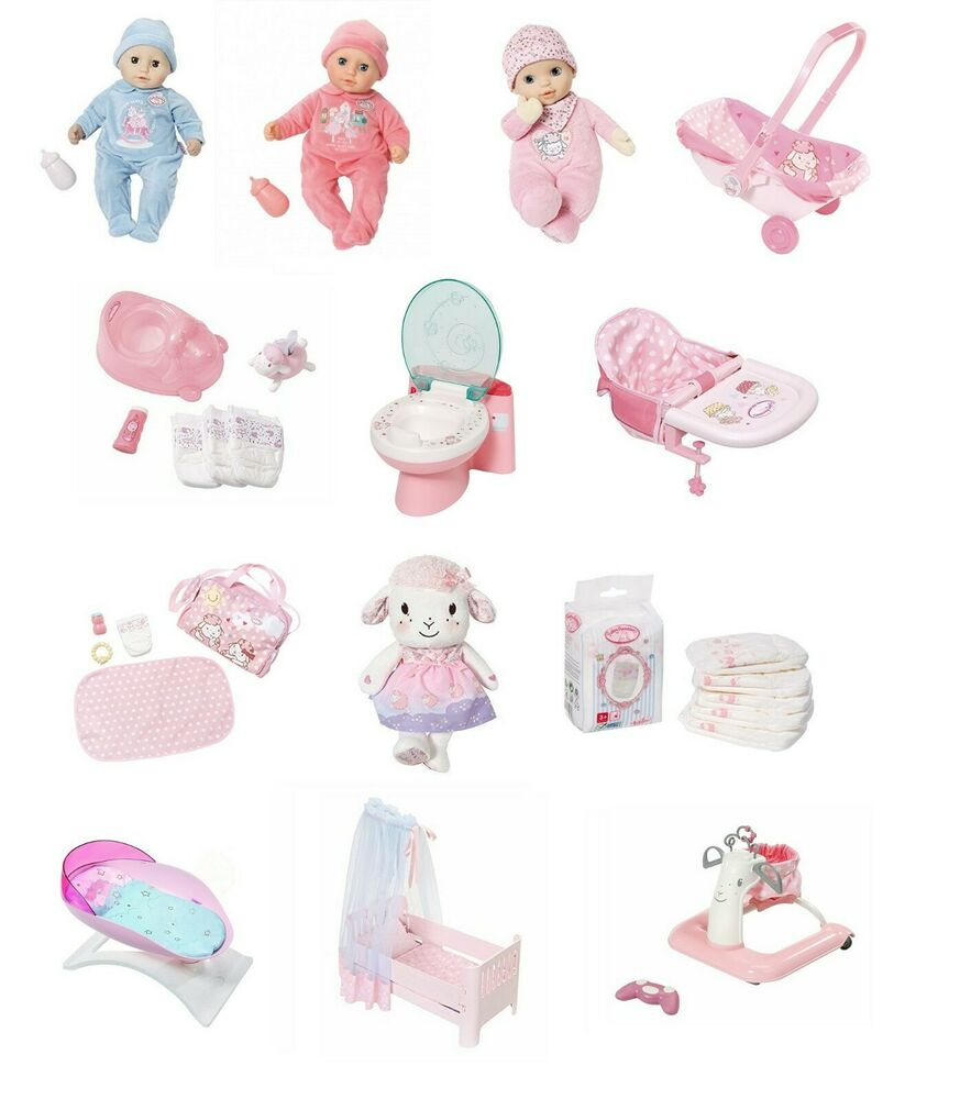 Baby Annabell Collection Doll Accessory Playset Childrens