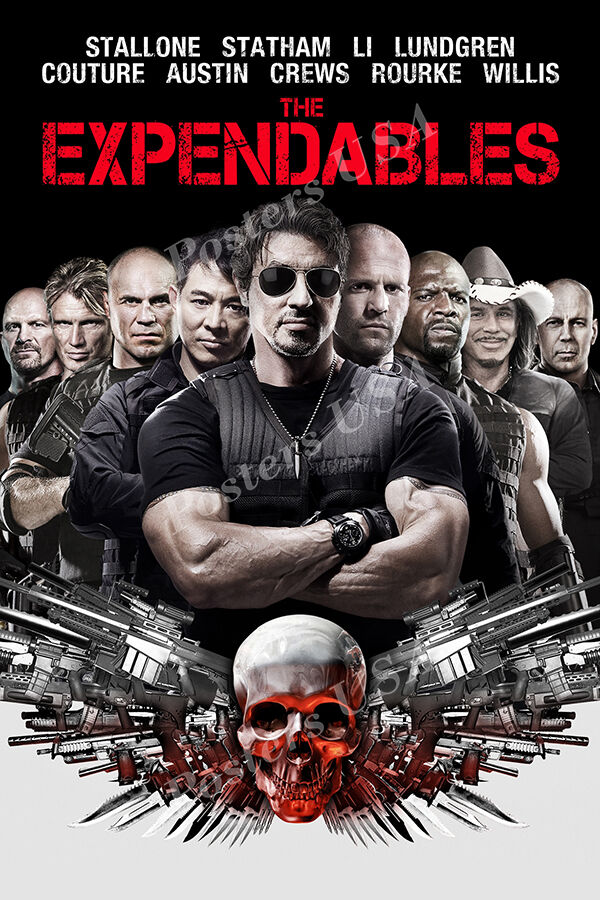poster expendables posters usa glossy finish
