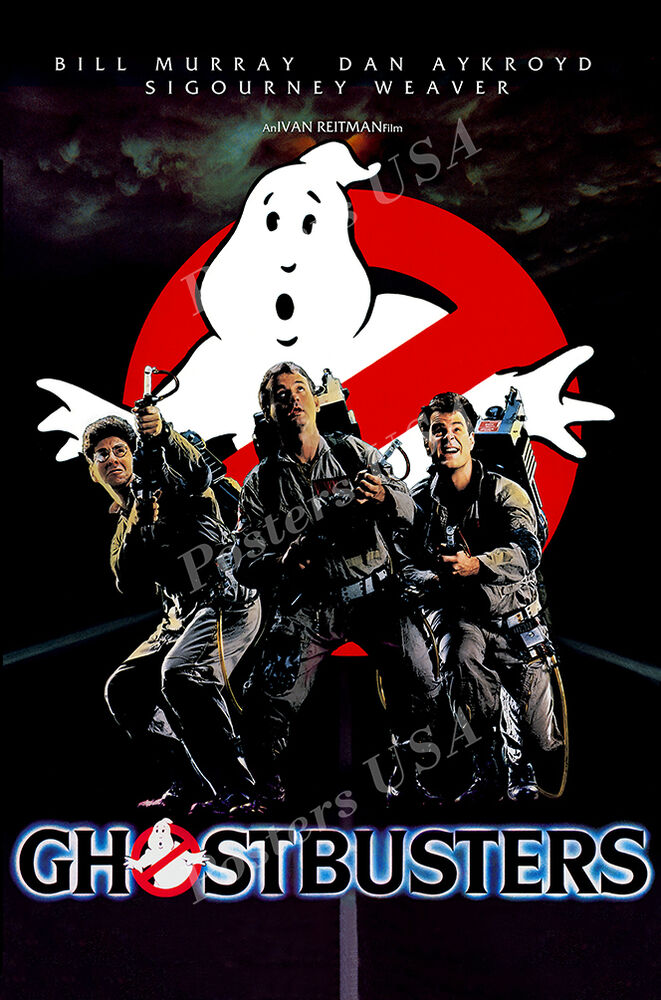 posters usa ghostbusters original movie poster glossy