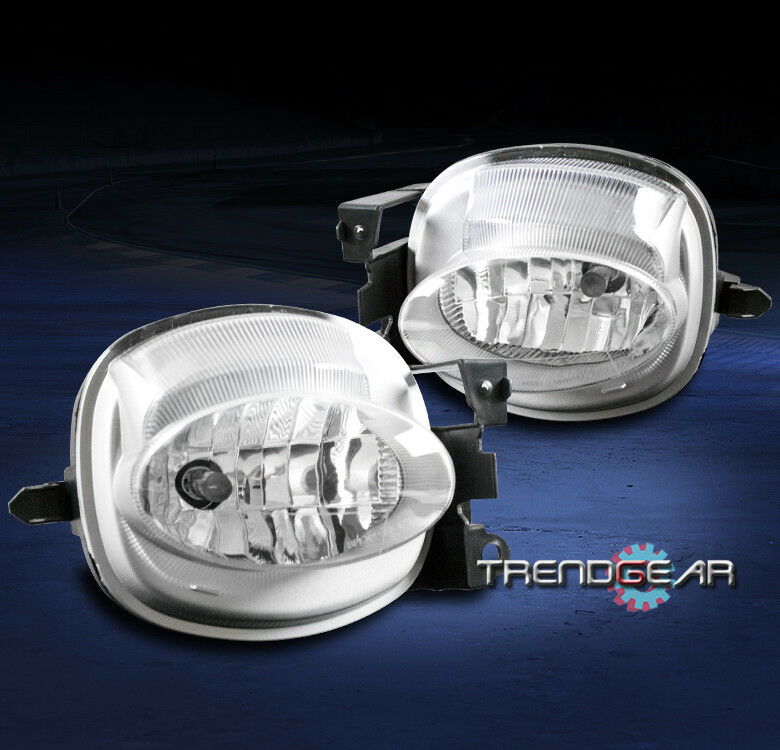 BUMPER DRIVING FOG LIGHT LAMP CHROME CLEAR W/BULB FOR 2007