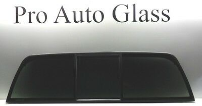 Rear Sliding Back Window Glass Privacy Tinted 3 Panel for a 94-02 Dodge Ram