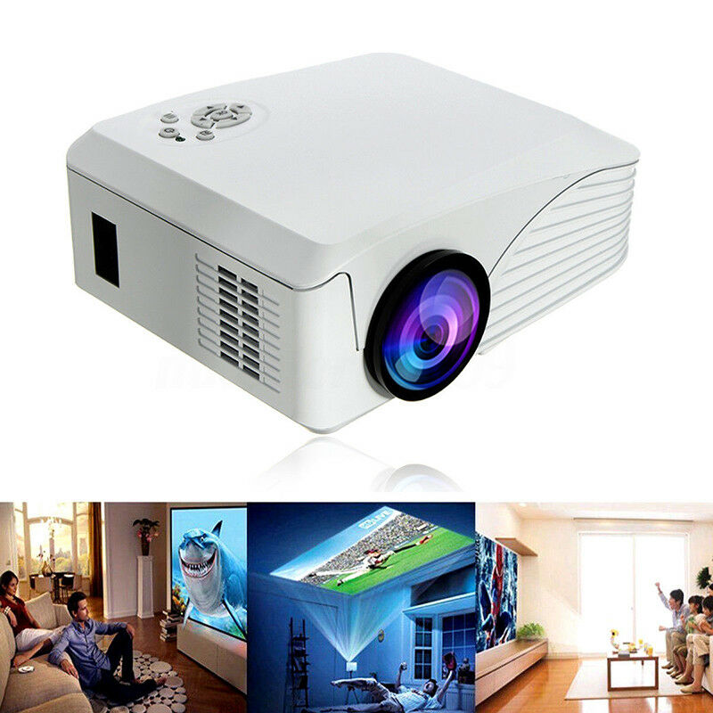 Giantex Best Hd Home Theater Multimedia Lcd Led Projector: 7000 Lumens 1080P HD Multimedia Portable Projector 3D LED