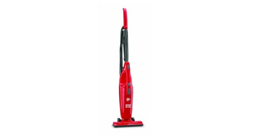 Dirt Devil Vacuum Cleaner Bagless Red Hand Held Or Stick