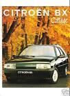 CITROEN BX COTTAGE - 1993 / catalogue brochure prospekt dépliant catalog