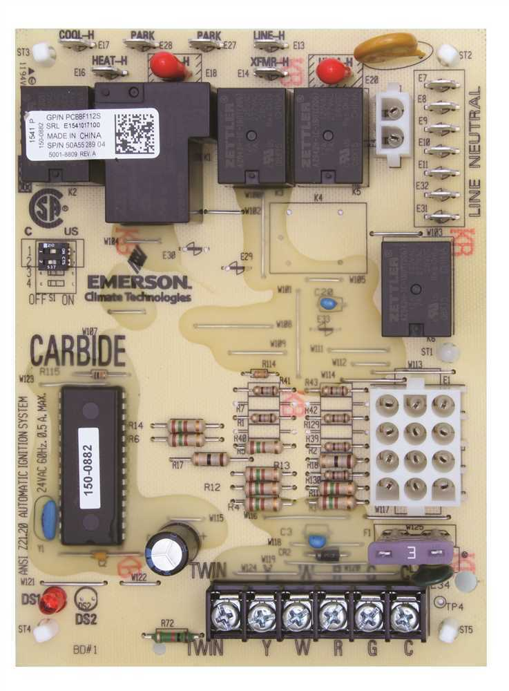 Goodman Oem Integrated Control Board Ignition Hsi Part For