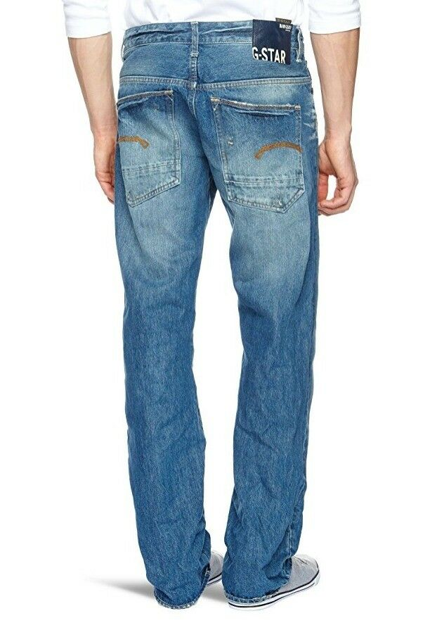 e455456e578 Details about G Star RAW YIELD Loose Jeans in Medium Aged Wheel Denim, Size  W32/L34 $190