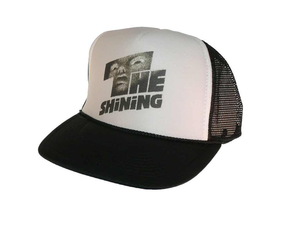 248b47fcbc6 Details about The Shining movie hat Trucker Hat Mesh Hat black
