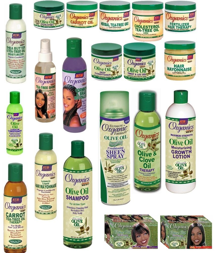 Organic Olive Oil Products For Natural Hair