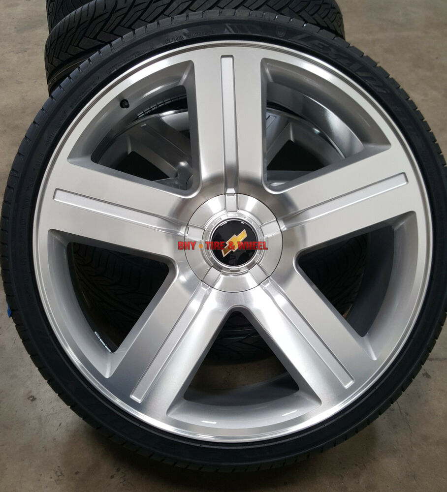 All Chevy 24 chevy rims : 24 inch Wheels and Tires Texas Edition Style Rims Silverado Silver ...