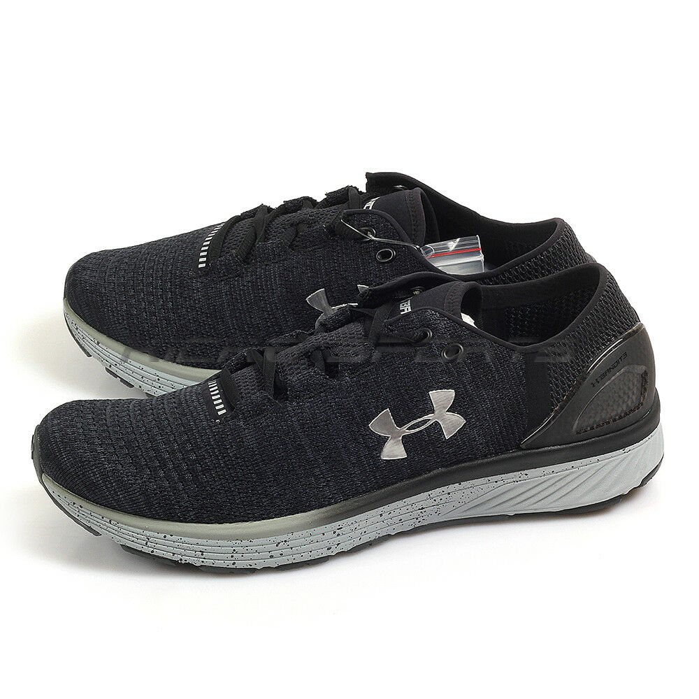 newest collection 97458 2de9f Details about Under Armour UA Charged Bandit 3 Dark Grey Black Sportstyle  Running 1295725-008