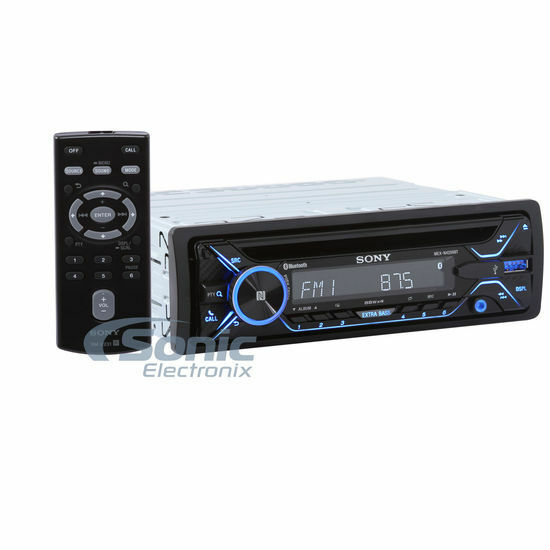 new sony mex n4200bt single din bluetooth cd multimedia. Black Bedroom Furniture Sets. Home Design Ideas