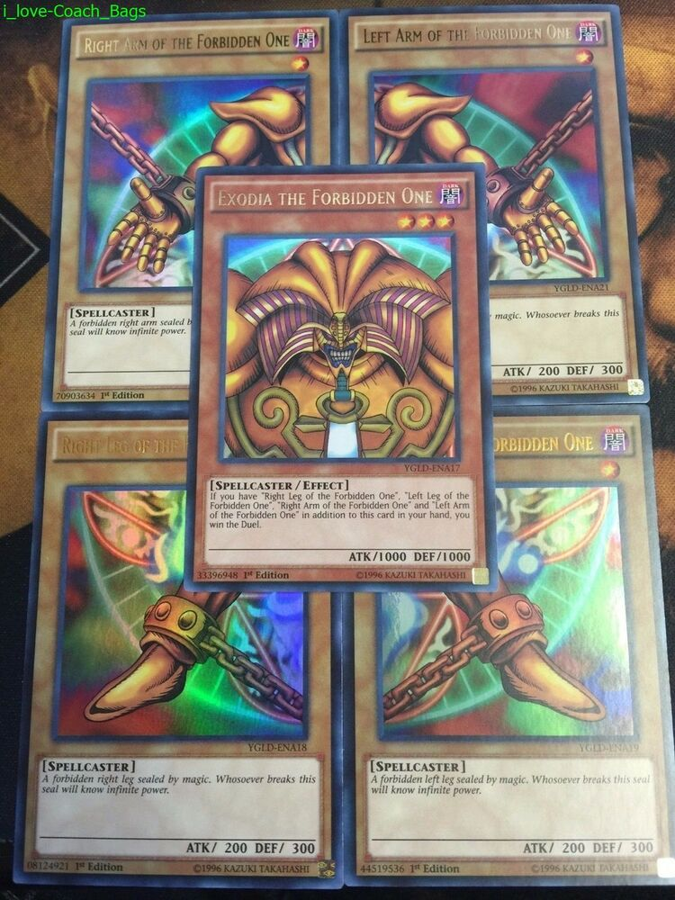 YUGIOH: EXODIA THE FOR...