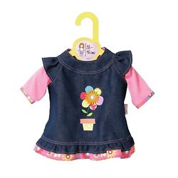 Zapf Creation Baby Born Jeans Dress (38-46 cm) Official New