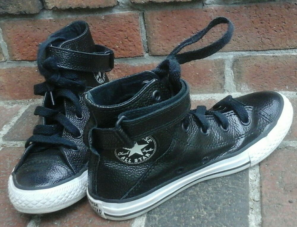 5605b51ec77d Converse Girls  Chuck Taylor All Star Stingray Metallic Brea High-Top Shoes  Sz 1
