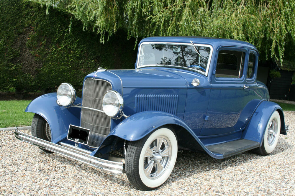1932 ford model b 5 window coupe v8 hot rod genuine henry for 1932 5 window coupe kit cars