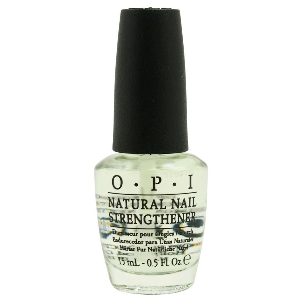 OPI Natural Nail Strengthener Nail Treatment NT T60 .5 Fl Oz / 15mL ...