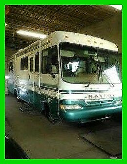 1997 Forest River Raven 285XL 29' Class A Motorhome Ford 460 Gas Awning Tow PKG