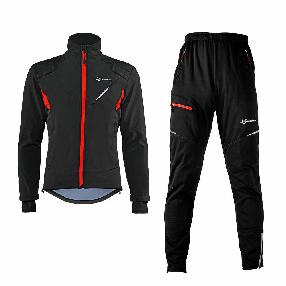 rockbros winter cycling thermal warm windproof suit. Black Bedroom Furniture Sets. Home Design Ideas