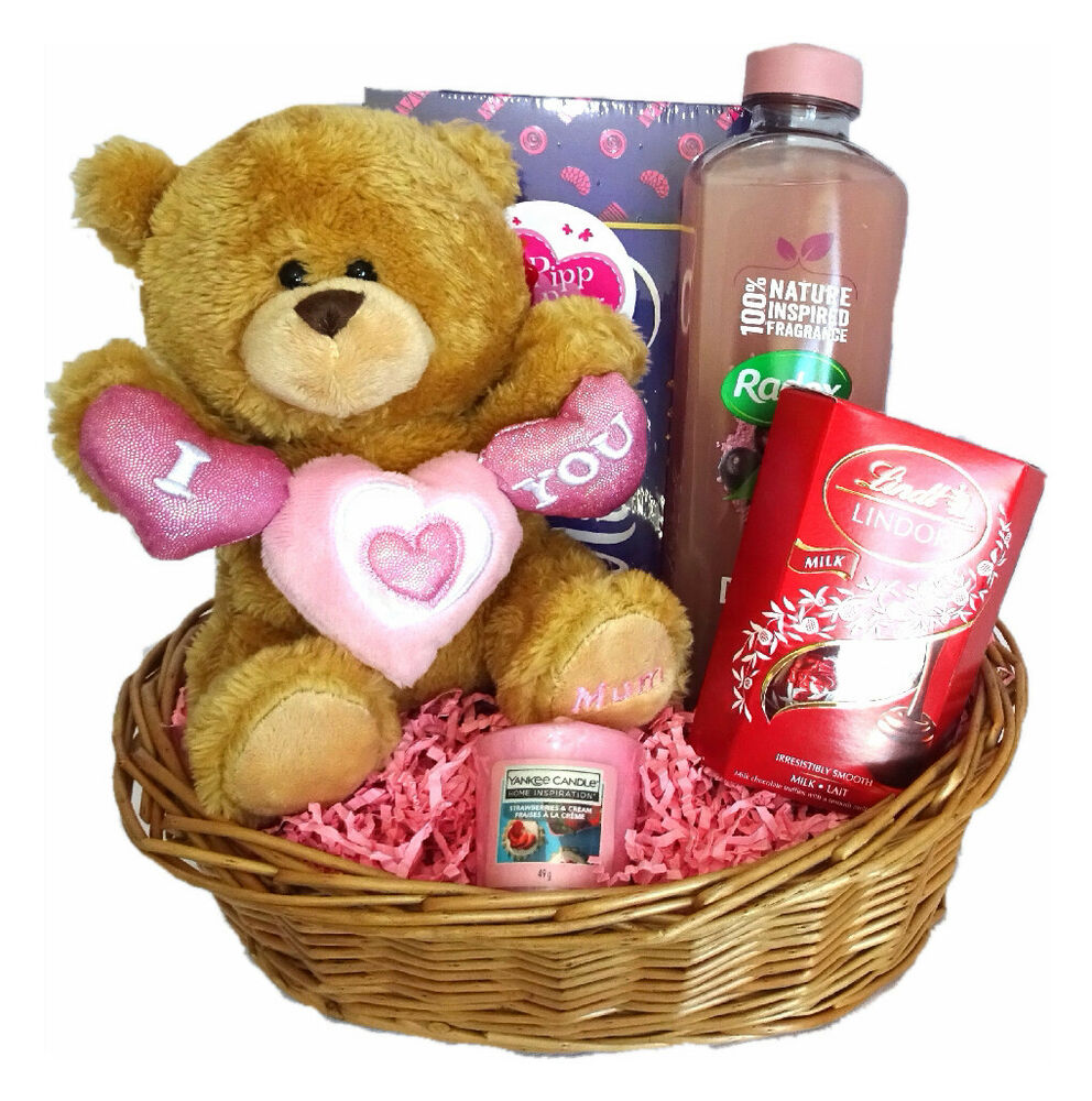 Mothers Day Gift Birthday Gift Basket For Mum Christmas