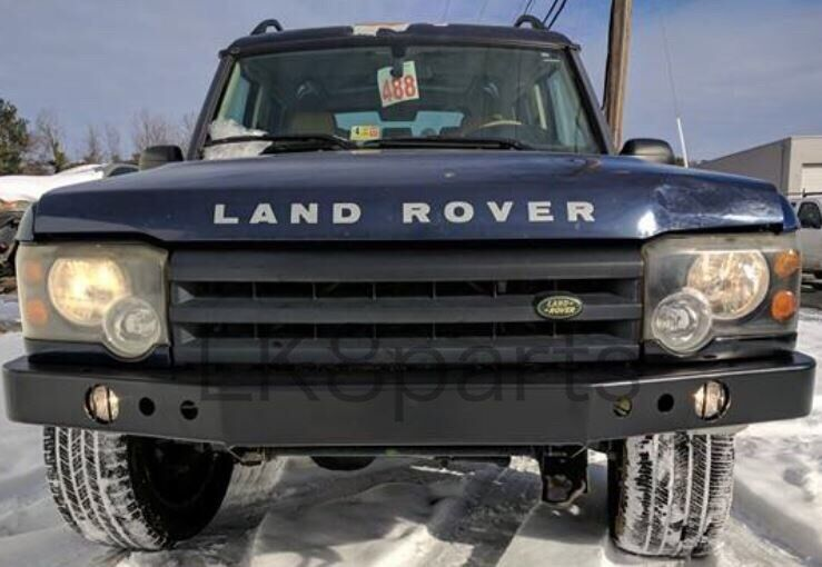 Land Rover Discovery 2 99 04 Heavy Duty Front Steel Bumper