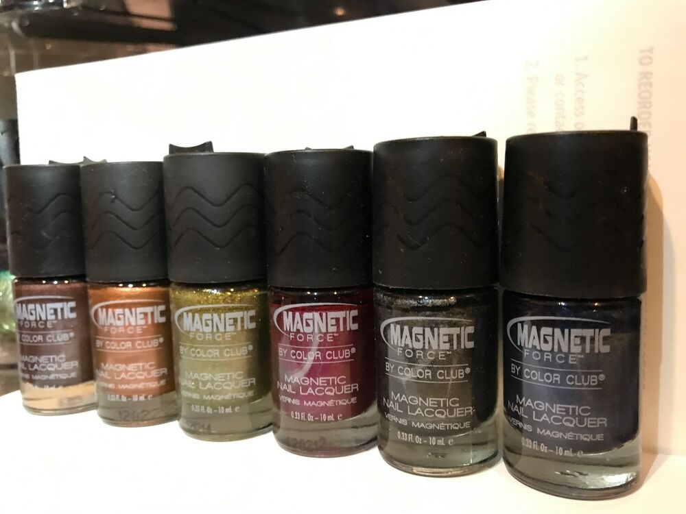 Color Club Nail Polish Nail Lacquer 2012 Magnetic Force Collection 6 ...