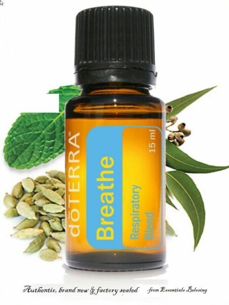 doTERRA Breathe Essential Oil 15 ml New Sealed FREE SHIPPING EXP: 2023
