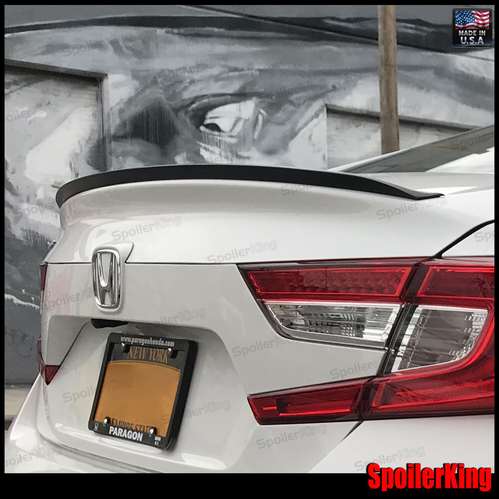 Details About Rear Trunk Lip Spoiler Wing Fits Honda Accord 2018 On 4dr 244l Spoilerking