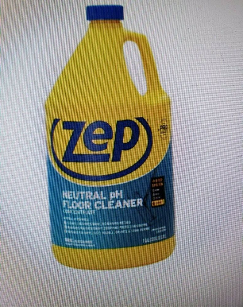 Zep Commercial Neutral Floor Cleaner Concentrate 128 Fl Oz