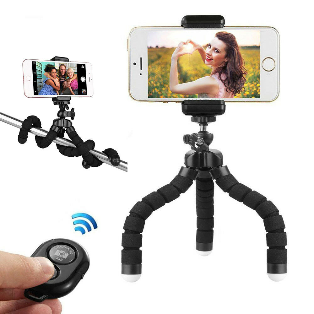 handy stativ smartphone stativ handy halter halterung f r gopro iphone ebay. Black Bedroom Furniture Sets. Home Design Ideas