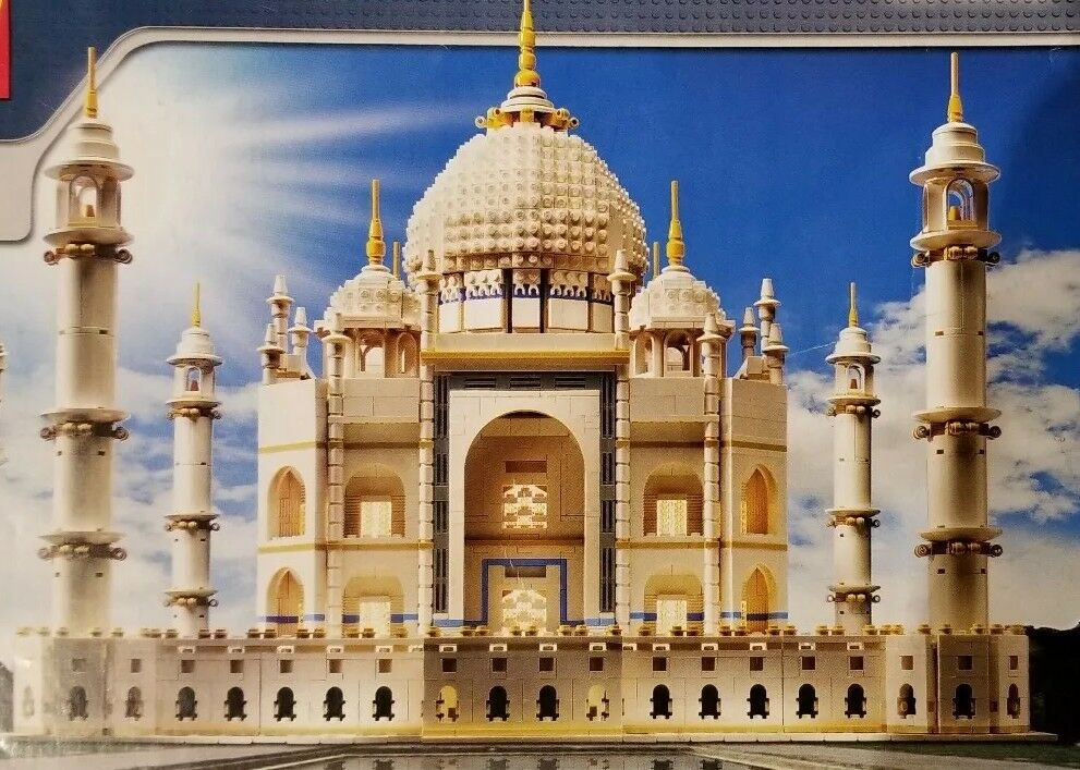 10189 Lego Taj Mahal 100 Complete With Instruction Booklets Ebay