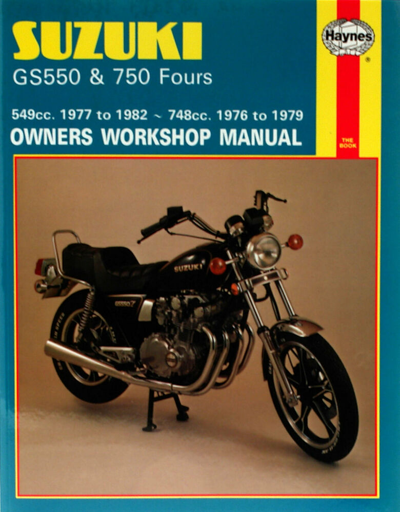 HAYNES Repair Manual - Suzuki GS550 (1976-1982) and GS750 (1976-1979) | eBay