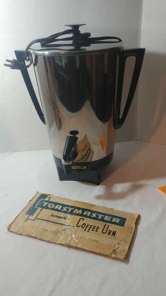 Vintage Toastmaster Automatic Coffee Urn Model M552 30 Cup