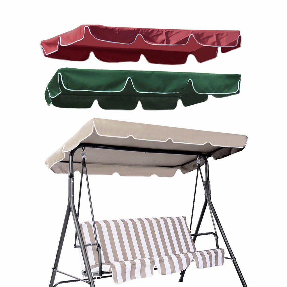 Patio Outdoor Garden Swing Canopy Replacement Porch Top ...