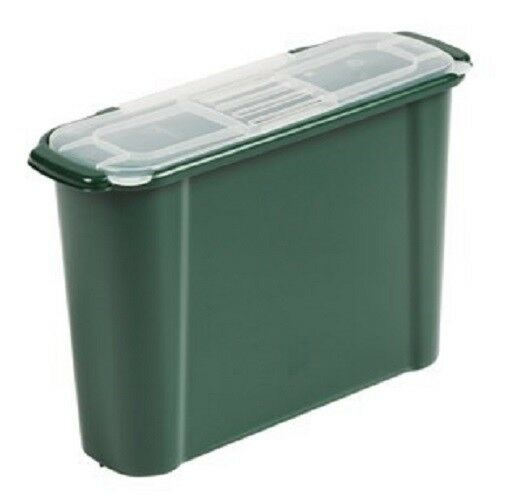 10l slim kitchen compost bin caddy food waste recycling carbon rh ebay co uk