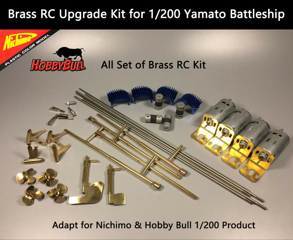 1  200 yamato battleship brass rc upgrade kit