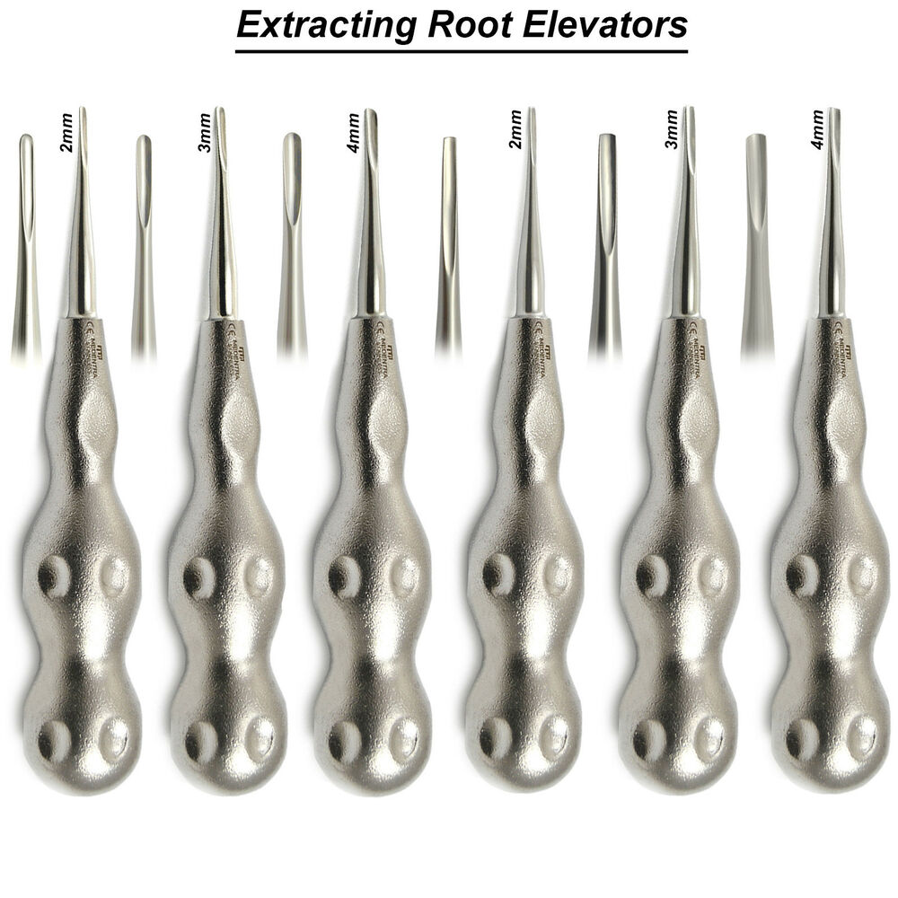Surgical Luxating Tooth Dental Extraction Root Elevators Periotome ...