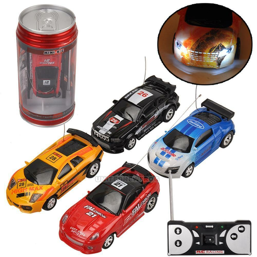 coke can mini rc car remote control micro racing car electric toys xmas gifts uk ebay. Black Bedroom Furniture Sets. Home Design Ideas
