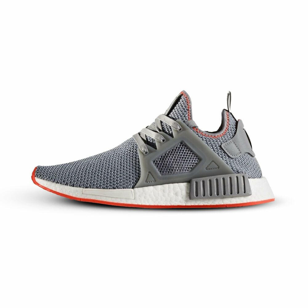 5128a40a8  BY9925  Mens Adidas Originals NMD XR1 Running Sneaker - Grey Red